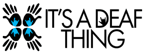 It's a Deaf Thing Logo